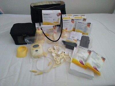 Medela Freestyle Double Electric Breast Pump Bonus Calma Teat plus more