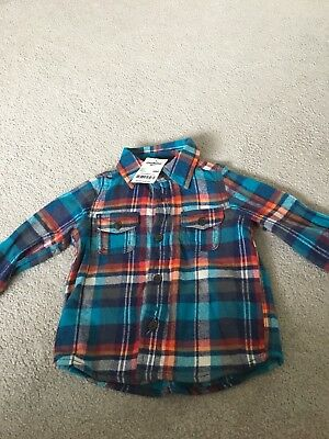 BNWT Osh Kosh  Check Shirt 18 Months Lovely Colours - Very Smart