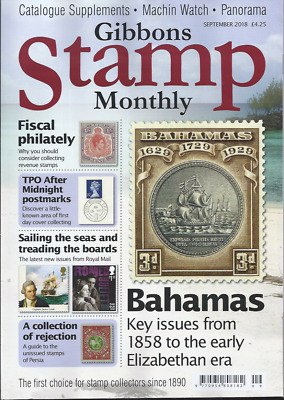 'Gibbons Stamp Monthly' - September 2018 - 'Bahamas'