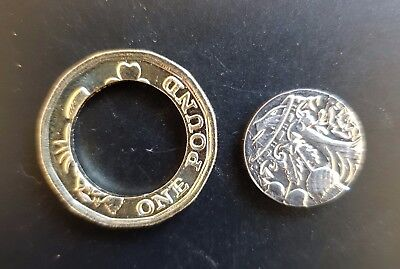 2016 12 sided £1 Pound Coin new design Uncirculated...(In Two Pieces)