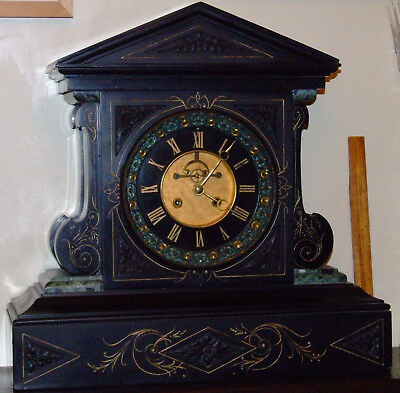 Huge French Marble Clock