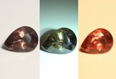 1.11ct Colour Change Garnet - Custom Cut Gem with Rare Superb Colour Change