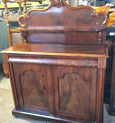 Antique Walnut Chiffonier sideboard/cupboard