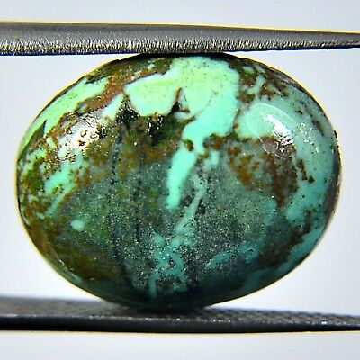 8.75 Ct 100%Natural Sleeping Beauty Turquoise Oval Cab Gemstone