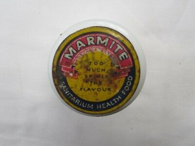 Marmite Container with Original Tin Lid