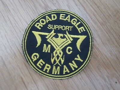 Mc Patch Road Eagle Mc Germany Support Patch Rocker Kutte Aufnäher Patches