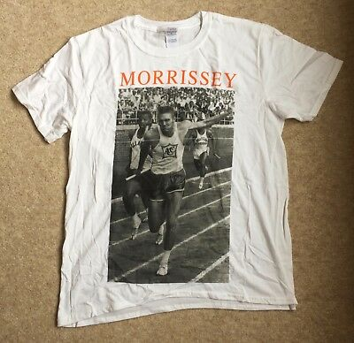 Morrissey Promo T Shirt List Of The Lost official genuine from Moz store Size L