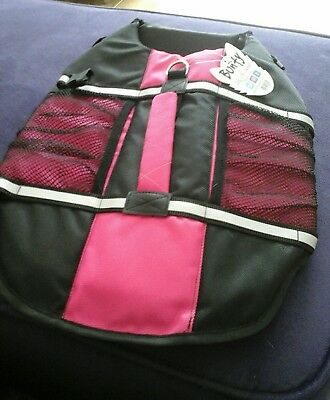 'Bunty ' dogs life jacket for sale pink