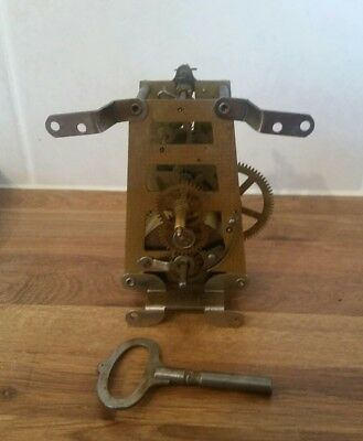 Movement for vintage Smiths Enfield Mantel Clock. Spares or repair.
