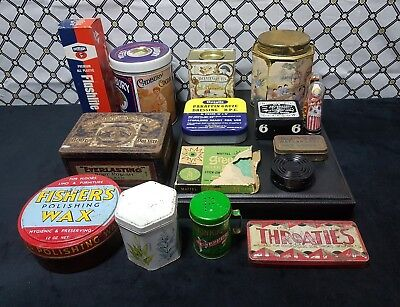 Vintage Collectable Tins