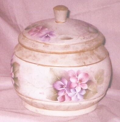 """Mary M. Wiseman tole painting pattern """"Violet Jar"""""""