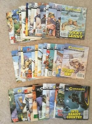 Commando comics 42 comic joblot 3100 range  (no.s 3101 - 3193)