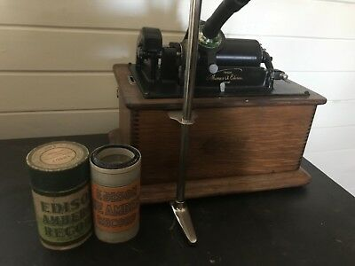 Early 1900s Edison standard phonograph