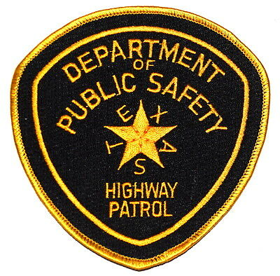 TEXAS – DEPT PUBLIC SAFETY – HIGHWAY PATROL TX Police Sheriff Patch ~