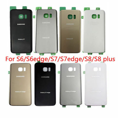 NEW OEM Housing Battery Door Back Cover Glass For Samsung Galaxy S6 S7 S8 S9 S9+