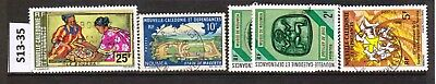 New Caledonia - Stamps From An Old Collection (S13-35)