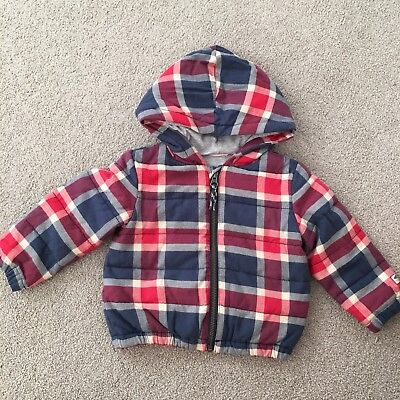 CountryRoad Unisex Kid Check Jacket Coat Size 1 12-18 Months Country Road