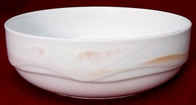 NORITAKE china SEA GEMS B137 pattern Round Vegetable Serving Bowl - 8""