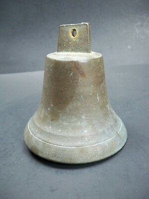 Vintage Antique Maritime Heavy Brass Ships Bell