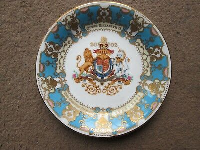 Royal Collection Dish for Golden Jubilee 2002.