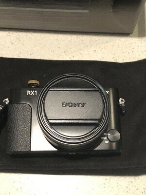 Sony RX-1 Full Frame Digital Camera with Accessories.