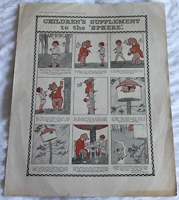 2  Childrens  Supplements  From  The  Sphere  Magazine/comic  In  1920