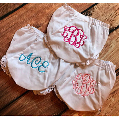 Monogrammed and Personalized Baby Bloomers - Customizable Diaper Covers (5)