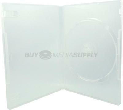 14mm Standard Clear 1 Disc DVD Case - 50 Pack