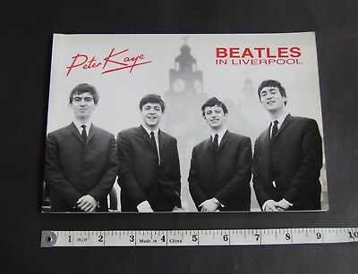Beatles In Liverpool 1962 photos Peter Kaye 1987 limited edition book signed