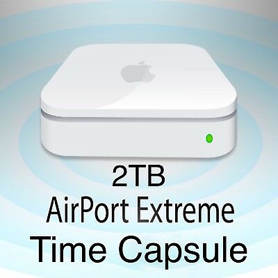 Apple AirPort Time Capsule Extreme - Network Attached 2TB HDD