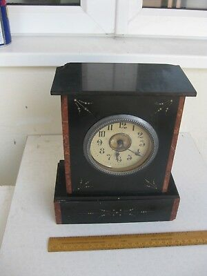 Victorian Slate Mantle Clock