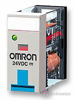 Omron Industrial Automation G2R-2-SN 24DC Relais, Dpdt , 5A, 24VDC, Prise