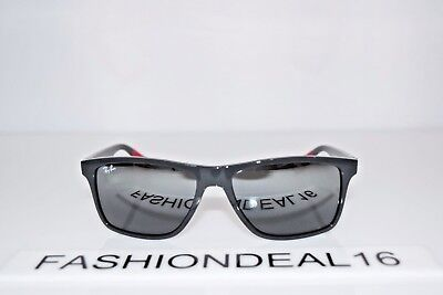 76c37d6bbd NEW RAY-BAN GRAY Red Mirrored RB4234 6185 88 58mm Sunglasses ...