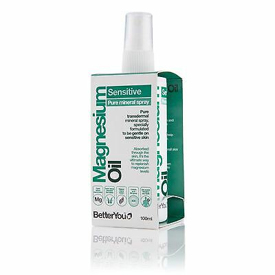 Better You 100 ml Magnesium Oil Sensitive Spray