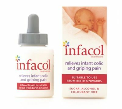 2 x INFACOL 50ml BABY- Colic Relief Drops