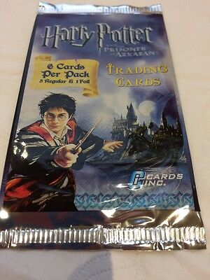 Harry Potter And The Prisoner Of Azkaban Unopened Packet Of Trading Cards