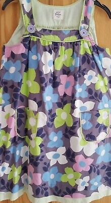Gorgeous Mini Boden Pinifore Dress. Age 7 To 8 Years.