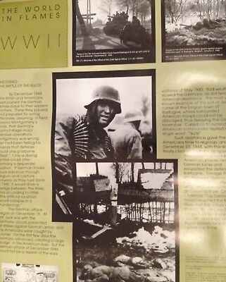 Dec 1944 The World In Flames Wwii National Archive Documents & Photos Poste
