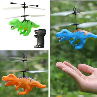 Helicopter Sensor Flying Remote Control Aircraft Kids Children Dinosaur Toys