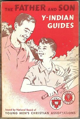 The Father and Son Y Indian Guides 1965 book YMCA