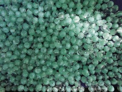 600 pcs OLD VINTAGE GLASS  BEADS 8 MM