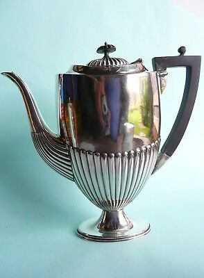 Large Victorian Silver Plated Coffee Pot................................ref.1110