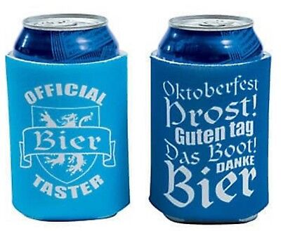 12 Oktoberfest BEER INSULATORS KOOZIES Can Covers PARTY GIFTS PRIZES FAVORS NEW