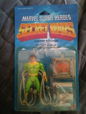 Vintage1984 MATTEL MARVEL SUPER HEROES SECRET WARS ACTION FIGURE DOCTOR OCTOPUS