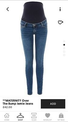 Topshop Maternity Jamie Jeans