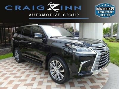 2017 Lexus LX 570 2017 Lexus LX 570 Rear Entertainment Black/Red 11,938 Miles available now!