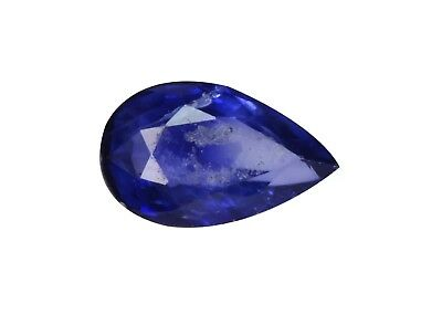 0.36Ct Terrific Pear cut 6 x 3 mm Top Luster Blue Sapphire