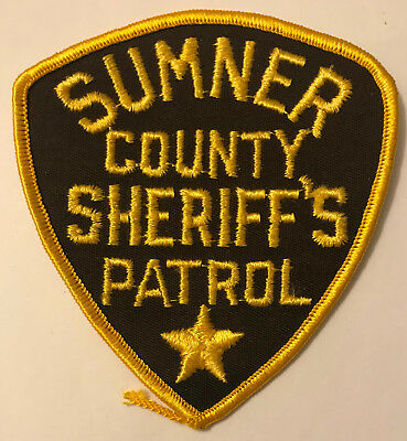 Sumner County Sheriffs Patrol Tennessee TN Police Sheriff Patch