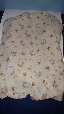winnie the pooh fitted sheet for baby bed