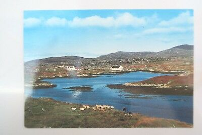 FINSBAY ISLE OF HARRIS Postcard Colour Used good condition